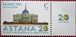 Kazakhstan  2018  Astana - The Capital Of A Great Steppe  1 V MNH - Kazakhstan
