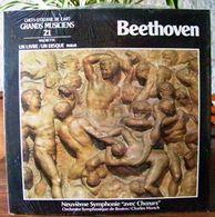 33 TOURS N° 21 VINYLE GRANDS MUSICIENS 1 LIVRE + 1 DISQUE 1990 NEUF BEETHOVEN SOUS FILM D'ORIGINE - SITE Serbon63 - Classical