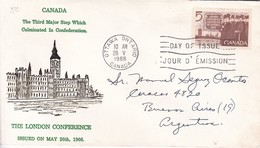 THE LONDON CONFERENCE. FDC CANADA OTTAWA CIRCA 1966. - BLEUP - First Day Covers