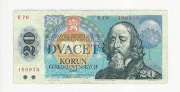 Czechoslovakia 20 Korun 1988 - Tchécoslovaquie