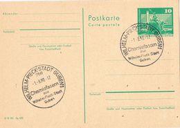 29550. Entero Postal WILHELM PIECK Stadt (Alemania DDR) 1980. Fibras Quimicas - [6] República Democrática