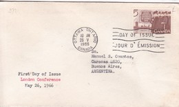 LONDON CONFERECE. FDC CANADA OTTAWA CIRCA 1966. - BLEUP - First Day Covers