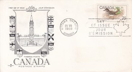 CANADA POSTAGE STAMPS. FDC CANADA OTTAWA CIRCA 1969. - BLEUP - First Day Covers