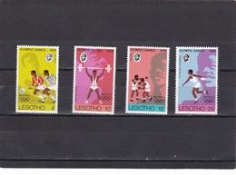 Lesotho Nº 311 Al 314 - Lesotho (1966-...)