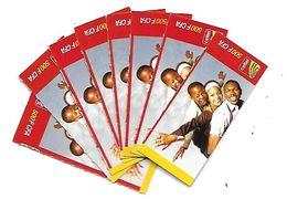 "@+ Niger - 8 Cartes Prépayée Celtel -  500 FCFA - Verso ""cartes 1-2-4-5-6-8-9-10"" - Niger"