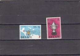 Belice Nº 369 Al 370 - Belice (1973-...)
