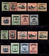 Bornéo/Labuan YT N° 86/94 Et N° 95/103 Les Deux Séries Neufs *. B/TB. A Saisir! - North Borneo (...-1963)