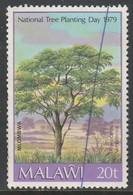 Malawi 1979 National Tree Planting Day 20t Multicoloured SW 322 O Used - Malawi (1964-...)