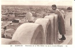 Afrique - Tunisie - Kairouan - Panorama De La Ville Sainte - Vue De La Grande Mosquée - Tunisie