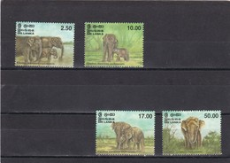 Sri Lanka Nº 1147 Al 1150 - Sri Lanka (Ceylon) (1948-...)