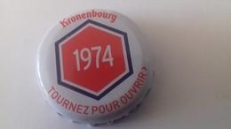 CAPSULE DE BIERE KRONENBOURG 1974 ROUGE - Cerveza