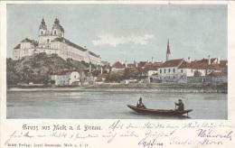 Gruss Aus MELK A.d.Donau (NÖ) - , Gel.1901, Gute Erhaltung - Melk