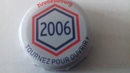 CAPSULE DE BIERE KRONENBOURG 2006 BLANCHE - Cerveza