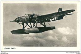 Hydravion    HEINKEL HE 115   HYDRAVION  BOMBARDIER - 1939-1945: 2ème Guerre