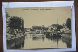 """LANEUVEVILLE-devant-NANCY-le Canal De La Marne Au Rhin-peniches-(une Au Nom De """"petit Garcon-lu A La Loupe) - Other Municipalities"""