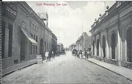 97252 ARGENTINA SAN LUIS STREET CALLE COLON POSTAL POSTCARD - Argentinien
