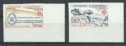 ANDORRA- SERIE EUROPA 1982 SIN DENTAR YVERT Nº 300/301  SIN FIJASELLOS - Andorra Francese