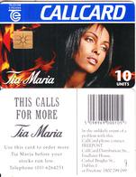 """IRELAND - Tia Maria 3(reverse """"this Calls For More""""), Chip GEM1.2, Tirage %6100, 11/95, Used - Ireland"""