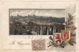 AK- Präge - Lithographie - Luxembourg - 1904 - Ansichtskarten