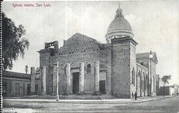 97255 ARGENTINA SAN LUIS CHURCH IGLESIA MATRIZ POSTAL POSTCARD - Argentinien