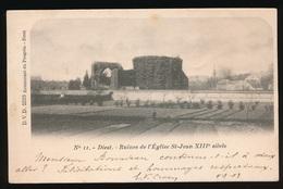 DIEST  RUINES DE L'EGLISE ST.JEAN XIIIe SIECLE - Diest