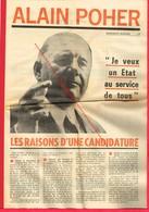 Programme Politique De Alain POHER En 1969 ... - Werbung