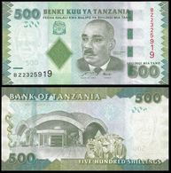 Tanzanie 500 SHILINGI ND 2010 P 40 UNC - Tanzanie