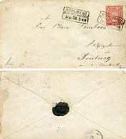 (Lo2299) Altdeutschland Brief NDP St. Stolberg N. Freiburg - Deutschland