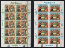 Azerbaïjan  1998 EUROPA Stamps - Festivals And National Celebrations.MNH - Azerbaïjan