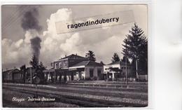 CPSM - ITALIE - OLEGGIO - Interna STAZIONE Avec Passage Du TRAIN - CARTE RARE - Vers 1950 1960 Environ - Novara