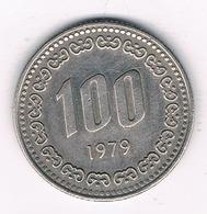 100 WON  1979 ZUID KOREA /4499G/ - Korea, South
