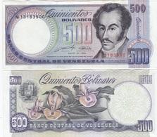 Venezuela - 500 Bolivares 31.05. 1990 Pick 67d UNC-- Lemberg-Zp - Venezuela