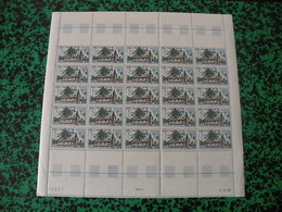 Feuille Neuf Coin Daté 2.10.1967- Gabon - Poste Aérienne - 100F CFA - Gabon (1960-...)
