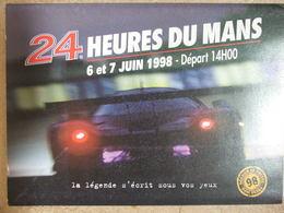 Sport Automobile - 24 Heures Du Mans - Dossier De Presse ACO - Vieux Papiers