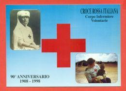 CASTIGLIONE DELLE STIVIERE- CROCE ROSSA - CORPO  INFERMIERE VOLONTARIE - MARCOFILIA - Croce Rossa