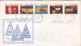 NOEL CHRISTMAS. FDC CANADA OTTAWA CIRCA 1970. - BLEUP - First Day Covers
