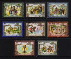 St. Vincent 1986, King Arthur, Lancelot, Merlin, Complete Set, Vfu. Cv 11 Euro - St.Vincent (1979-...)