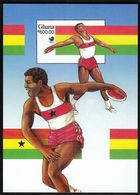 Ghana 1988 / Olympic Games Seoul / MNH / Block 131 / Imperforated - Sommer 1988: Seoul