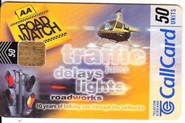 IRELAND - AA Road Watch, Chip ODS 3, Tirage 50000, 07/99, Used - Ireland