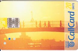 """IRELAND - Turism, Beautiful Ireland/Ha""""Penny Bridge, Chip SC7, Tirage 87500, 06/99, Used - Ireland"""