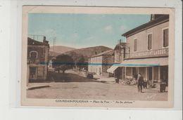 Carte Postale Abimée - GOURDAN POLIGNAN - Place Du Pont - Au Fin Pêcheur - Hotel Restaurant Lassus - Altri Comuni