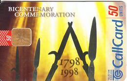 IRELAND - 1798-1998 Bicentenary Commemoration, Chip ODS 3, Tirage 50000, 10/98, Used - Ireland