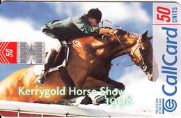 IRELAND - Kerrygold Horse Show 1998, Chip SC7, Tirage 50000, 07/98, Used - Ireland