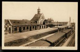 Chauny - La Gare, Vue Intérieure - Chauny