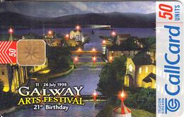 IRELAND - Galway Arts Festival, Chip ODS 3, Tirage 50000, 05/98, Used - Ireland
