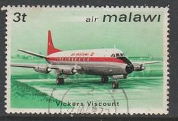 Malawi 1972 Airmail - Malawi Aircraft Used - Malawi (1964-...)