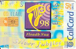 IRELAND - Fleadh Nua, Chip GP1, Tirage 50000, 04/98, Used - Ireland
