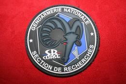 Ancien écusson Section Recherches Gendarmerie Corse - Police & Gendarmerie