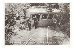 Bouvignes  ( M 4364 )  Déraillement Du Train - Ath