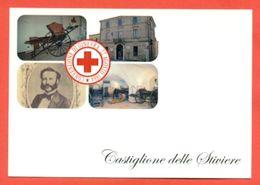 CASTIGLIONE DELLE STIVIERE- CROCE ROSSA - MOSTRA CARTOLINE D'EPOCA - MARCOFILIA - Croce Rossa